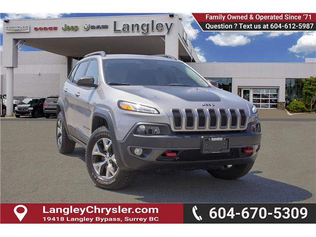 2017 Jeep Cherokee Trailhawk (Stk: EE895680) in Surrey - Image 1 of 27