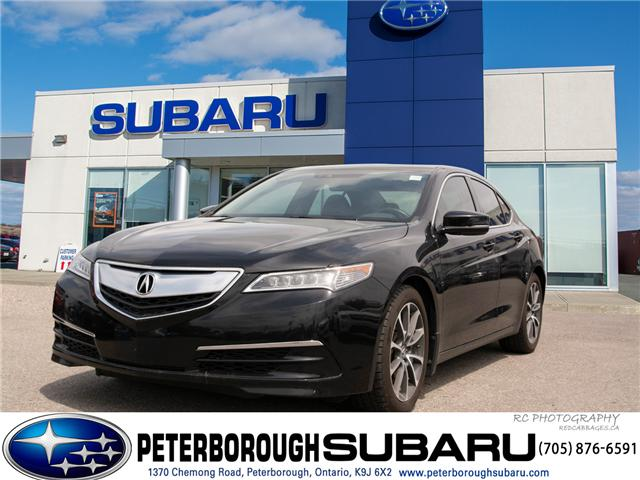 2016 Acura TLX Tech (Stk: SP0152) in Peterborough - Image 1 of 22