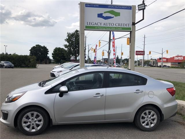 2017 Kia Rio LX+ (Stk: L8610) in Waterloo - Image 1 of 17