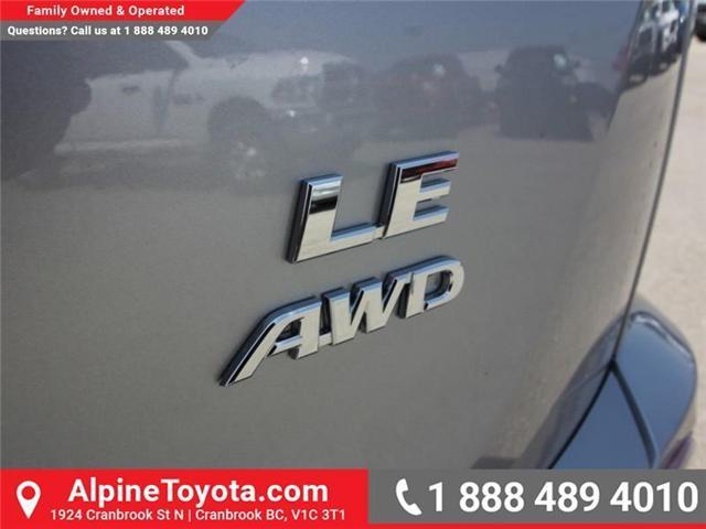 2018 Toyota RAV4 LE (Stk: W813176) in Cranbrook - Image 16 of 16