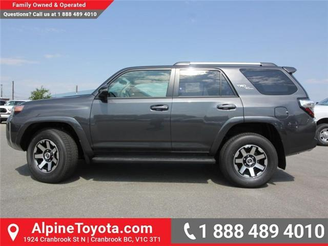 2018 Toyota 4Runner SR5 (Stk: 5589435) in Cranbrook - Image 2 of 21