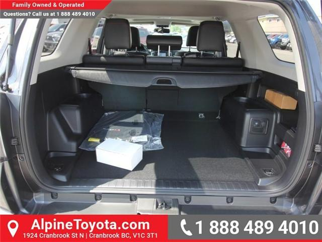2018 Toyota 4Runner SR5 (Stk: 5589435) in Cranbrook - Image 19 of 21