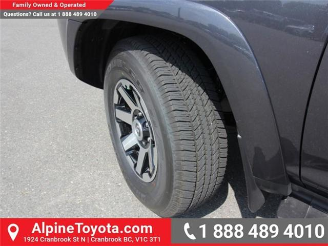2018 Toyota 4Runner SR5 (Stk: 5589435) in Cranbrook - Image 20 of 21