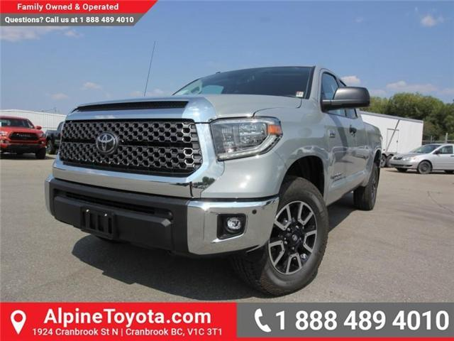 2018 Toyota Tundra  (Stk: X758157) in Cranbrook - Image 1 of 14