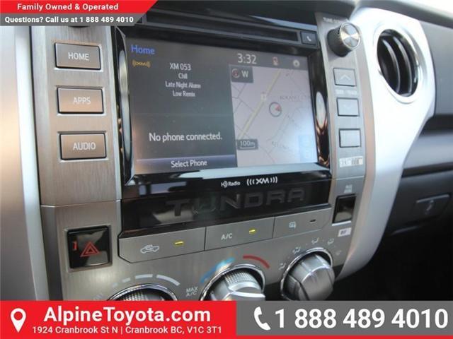 2018 Toyota Tundra  (Stk: X758157) in Cranbrook - Image 10 of 14