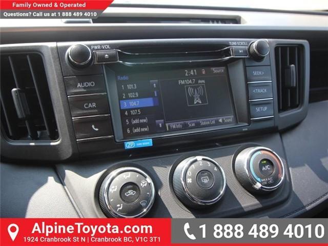 2018 Toyota RAV4 LE (Stk: W818866) in Cranbrook - Image 12 of 15