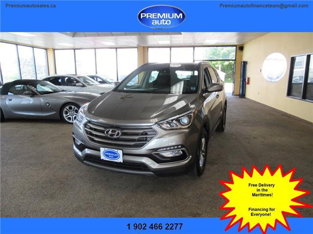 2018 Hyundai Santa Fe Sport 2.4 Luxury (Stk: 053614) in Dartmouth - Image 1 of 25