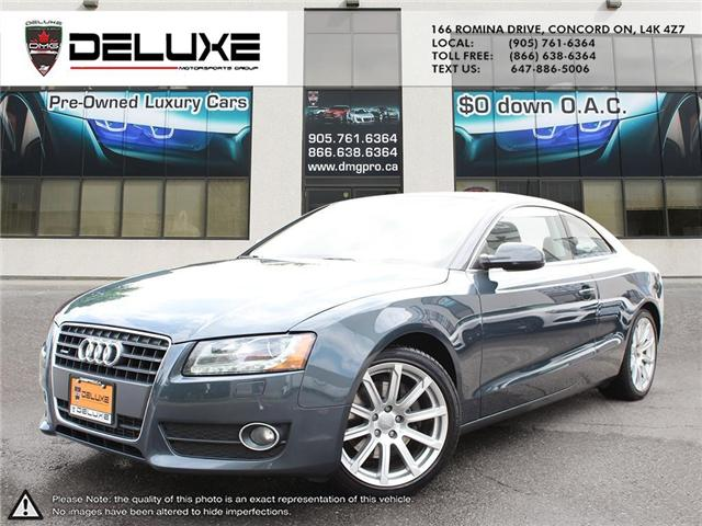 2010 Audi A5 2.0T (Stk: D0433) in Concord - Image 1 of 17