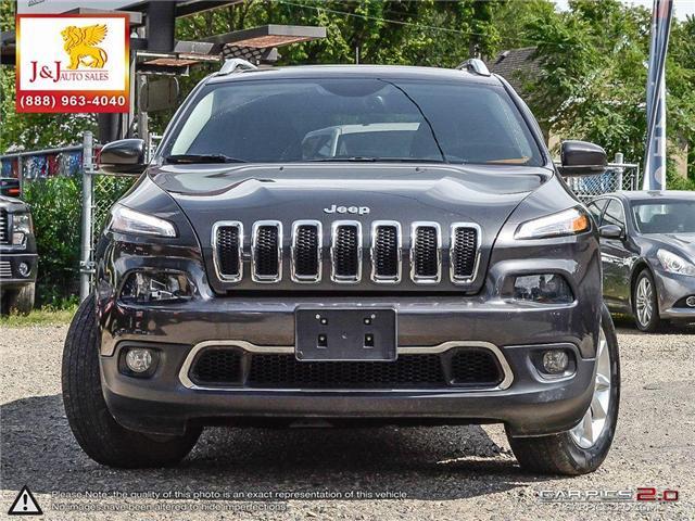 2015 Jeep Cherokee Limited (Stk: J18064) in Brandon - Image 2 of 27