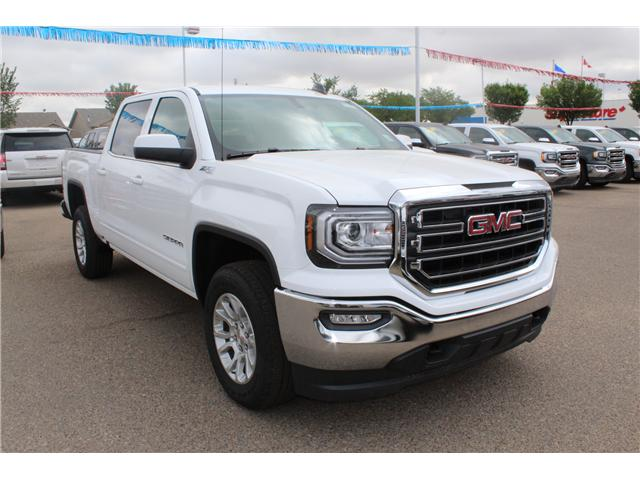 2018 GMC Sierra 1500 SLE (Stk: 166996) in Medicine Hat - Image 1 of 27