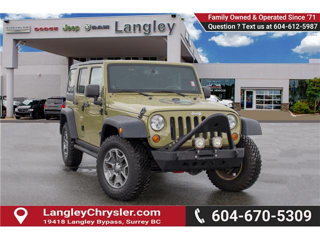 2013 Jeep Wrangler Unlimited Rubicon (Stk: J893223A) in Surrey - Image 1 of 25