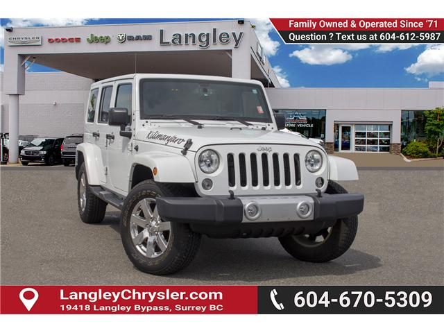 2015 Jeep Wrangler Unlimited Sahara (Stk: J863964A) in Surrey - Image 1 of 28