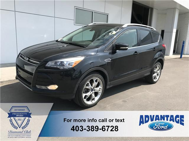2014 Ford Escape Titanium (Stk: T22523) in Calgary - Image 1 of 18