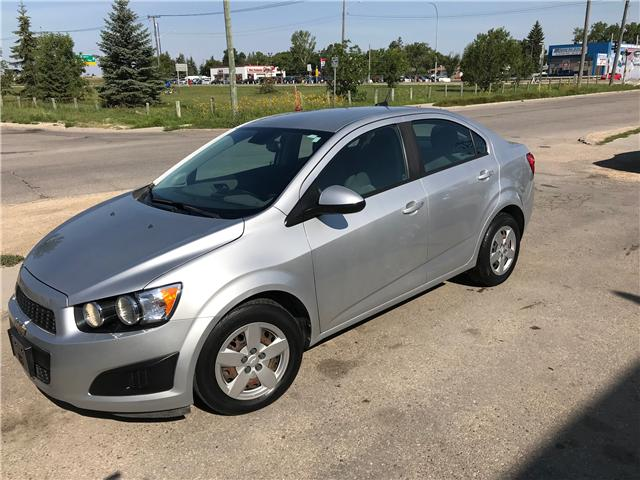2012 Chevrolet Sonic LS (Stk: 25) in Winnipeg - Image 1 of 10