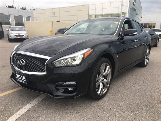 2016 Infiniti Q70 3.7 Sport (Stk: G180511) in London - Image 1 of 20