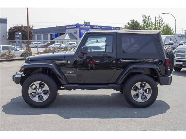2016 Jeep Wrangler Sahara (Stk: EE890870A) in Surrey - Image 4 of 22