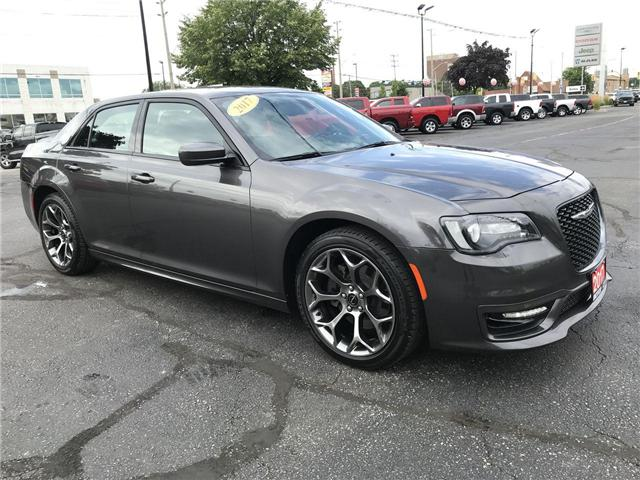 2017 Chrysler 300 S Hemi 5.7L Panoramic Sun Roof Heated Leather (Stk: 44533) in Windsor - Image 1 of 11