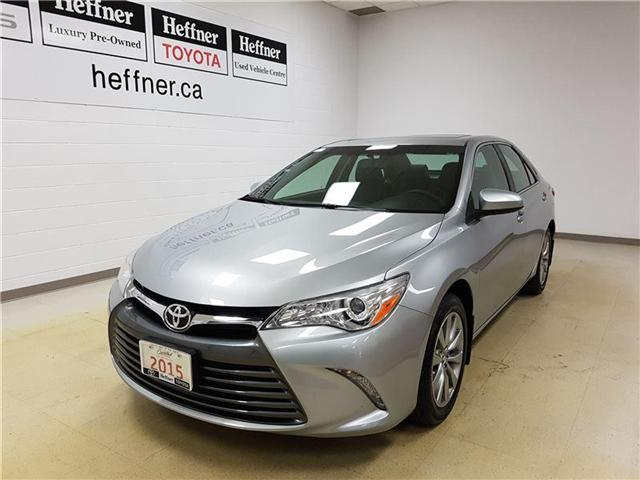 2015 Toyota Camry XLE 4T1BF1FK9FU879985 185881 in Kitchener