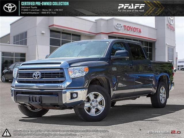 2015 Toyota Tundra 4x4 CrewMax SR5 5.7 6A (Stk: H18590A) in Orangeville - Image 1 of 19