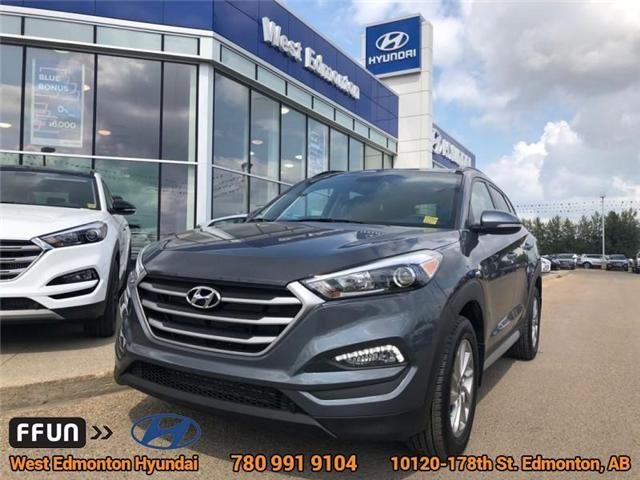 2018 Hyundai Tucson SE (Stk: E4050) in Edmonton - Image 1 of 21