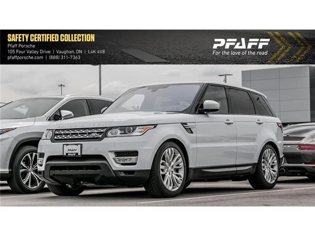 2016 Land Rover Range Rover Sport V8 Supercharged (Stk: U7234) in Vaughan - Image 1 of 2