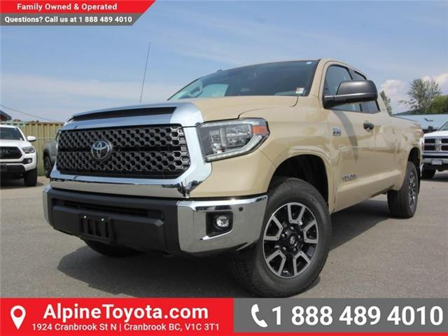2018 Toyota Tundra  (Stk: X760100) in Cranbrook - Image 1 of 17
