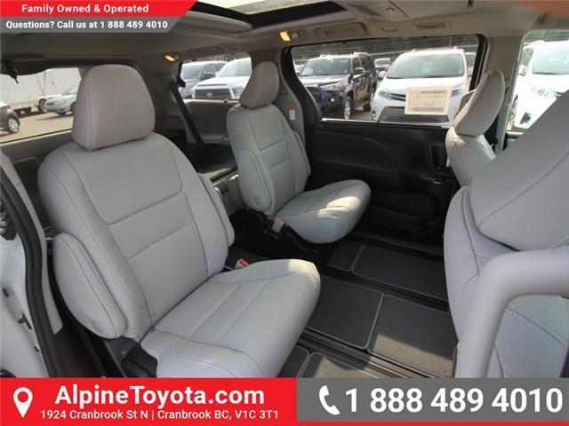 2018 Toyota Sienna XLE 7-Passenger (Stk: S206146) in Cranbrook - Image 10 of 18