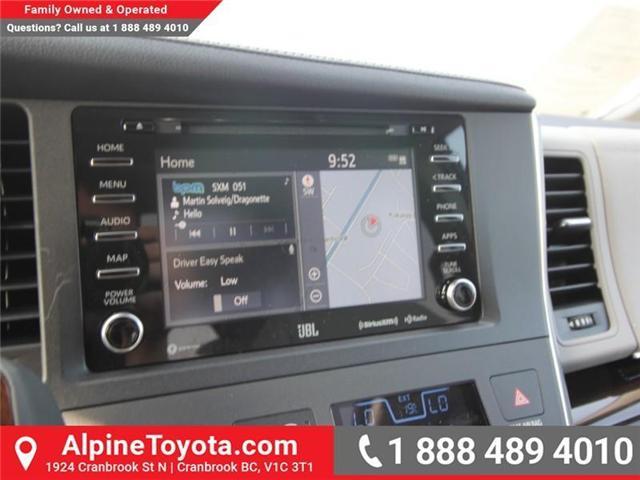 2018 Toyota Sienna XLE 7-Passenger (Stk: S206146) in Cranbrook - Image 11 of 18