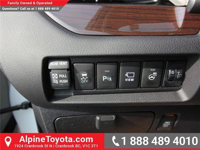 2018 Toyota Sienna XLE 7-Passenger (Stk: S206146) in Cranbrook - Image 13 of 18