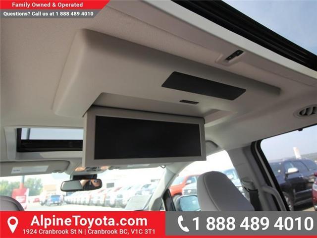 2018 Toyota Sienna XLE 7-Passenger (Stk: S206146) in Cranbrook - Image 15 of 18