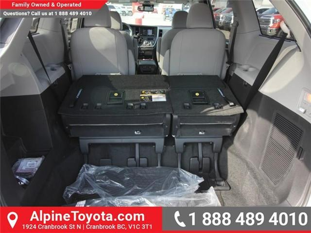 2018 Toyota Sienna LE 7-Passenger (Stk: S206146) in Cranbrook - Image 16 of 18