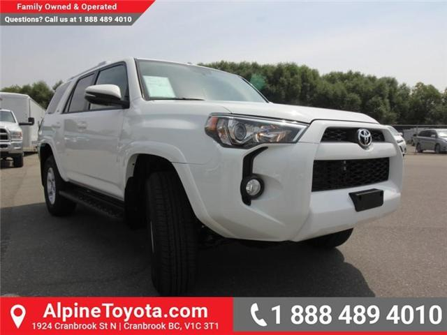 2018 Toyota 4Runner SR5 (Stk: 5597422) in Cranbrook - Image 6 of 17