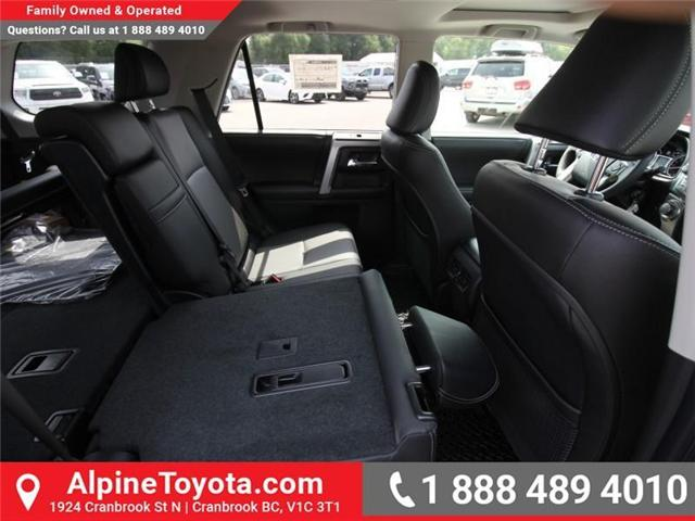 2018 Toyota 4Runner SR5 (Stk: 5597422) in Cranbrook - Image 11 of 17