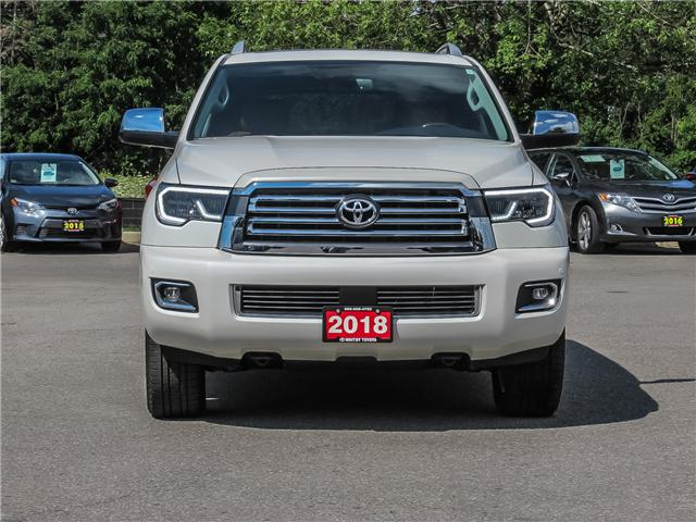 2018 Toyota Sequoia Platinum 5.7L V8 (Stk: 80312) in Whitby - Image 2 of 16