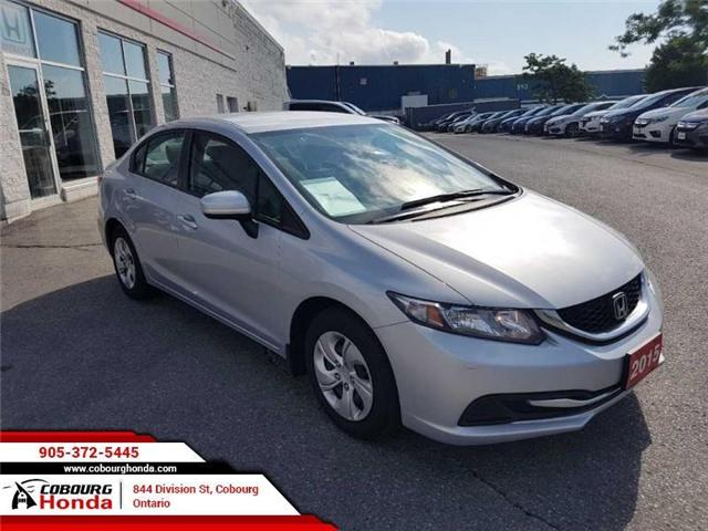2015 Honda Civic LX (Stk: 18375A) in Cobourg - Image 2 of 13