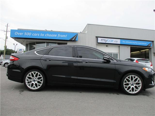 2013 Ford Fusion Titanium (Stk: 180886) in North Bay - Image 1 of 13