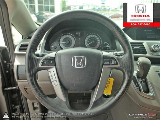 2016 Honda Odyssey SE (Stk: 18558A) in Cambridge - Image 14 of 27