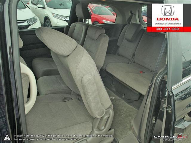 2016 Honda Odyssey SE (Stk: 18558A) in Cambridge - Image 20 of 27