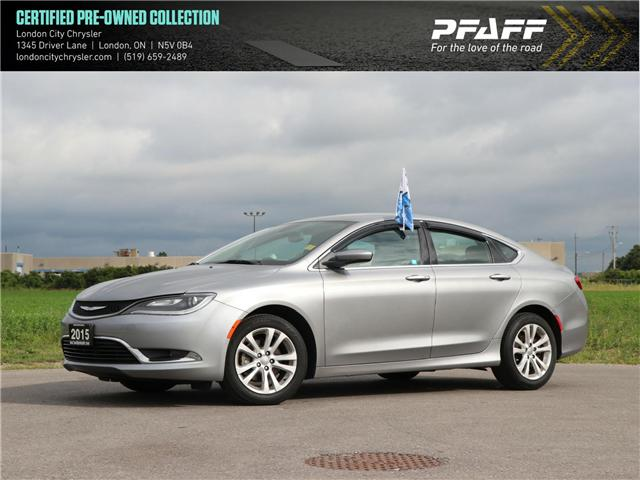 2015 Chrysler 200 Limited (Stk: 8825A) in London - Image 1 of 24