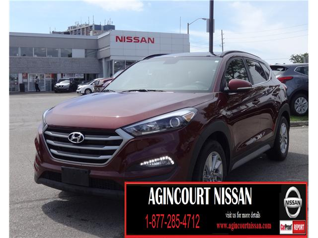 2018 Hyundai Tucson Luxury 2.0L (Stk: JN166493A) in Scarborough - Image 1 of 25