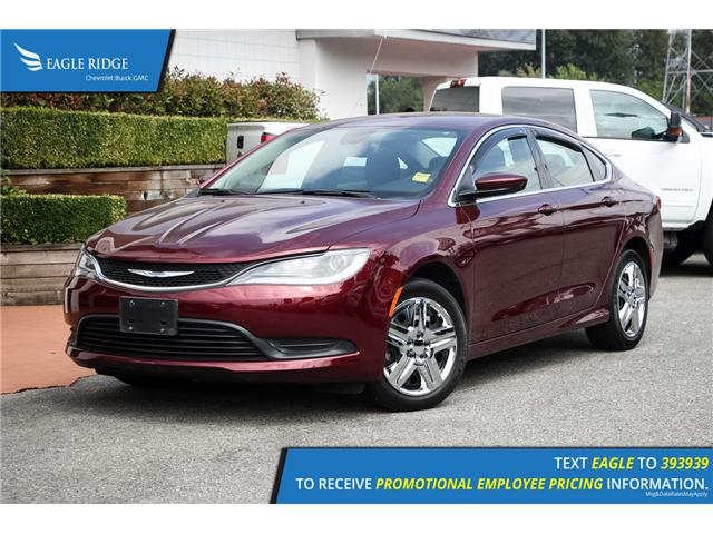 2015 Chrysler 200 LX (Stk: 153410) in Coquitlam - Image 1 of 15