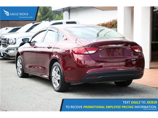 2015 Chrysler 200 LX (Stk: 153410) in Coquitlam - Image 4 of 15