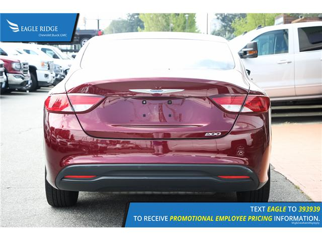 2015 Chrysler 200 LX (Stk: 153410) in Coquitlam - Image 5 of 15