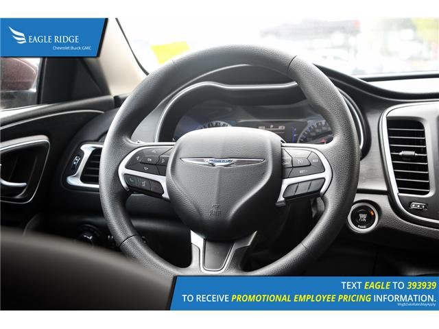2015 Chrysler 200 LX (Stk: 153410) in Coquitlam - Image 9 of 15