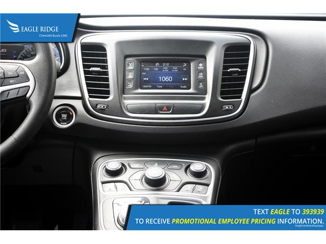 2015 Chrysler 200 LX (Stk: 153410) in Coquitlam - Image 10 of 15