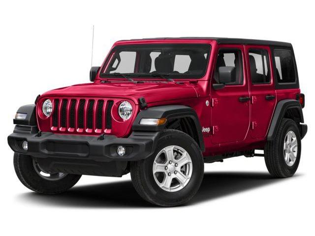 2018 Jeep Wrangler Unlimited Sport (Stk: J183925) in Surrey - Image 1 of 9