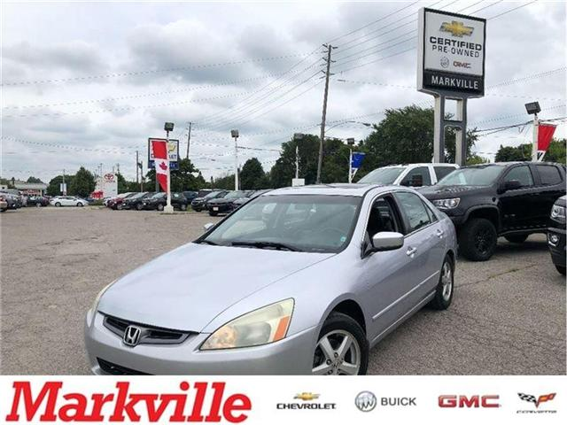 2004 Honda Accord EX-L-LEATHER-ROOF-CERTIFIED-CLEAN!!! (Stk: 212510B) in Markham - Image 1 of 20