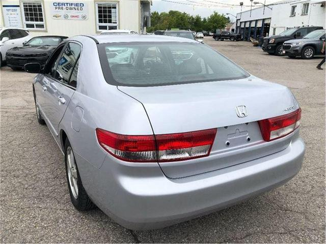 2004 Honda Accord EX-L-LEATHER-ROOF-CERTIFIED-CLEAN!!! (Stk: 212510B) in Markham - Image 4 of 20