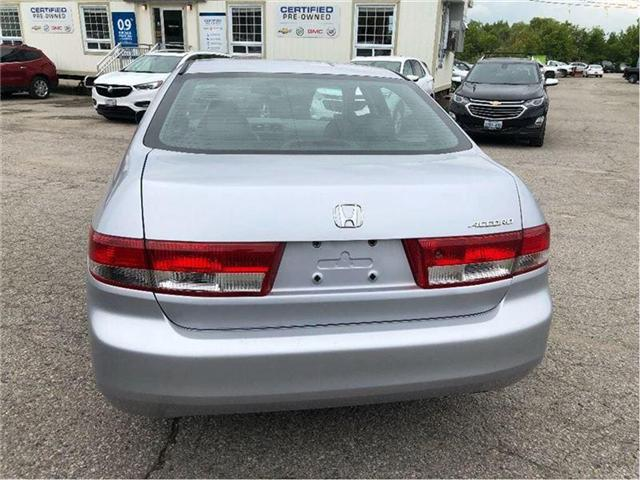 2004 Honda Accord EX-L-LEATHER-ROOF-CERTIFIED-CLEAN!!! (Stk: 212510B) in Markham - Image 5 of 20