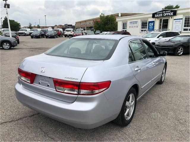 2004 Honda Accord EX-L-LEATHER-ROOF-CERTIFIED-CLEAN!!! (Stk: 212510B) in Markham - Image 6 of 20